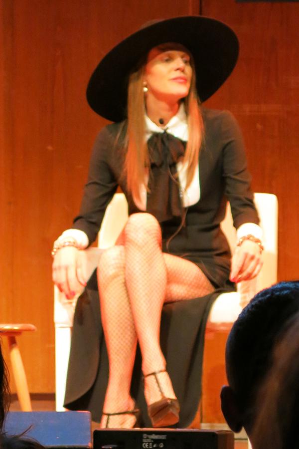 Anna Della Russo at the Vogue Festival