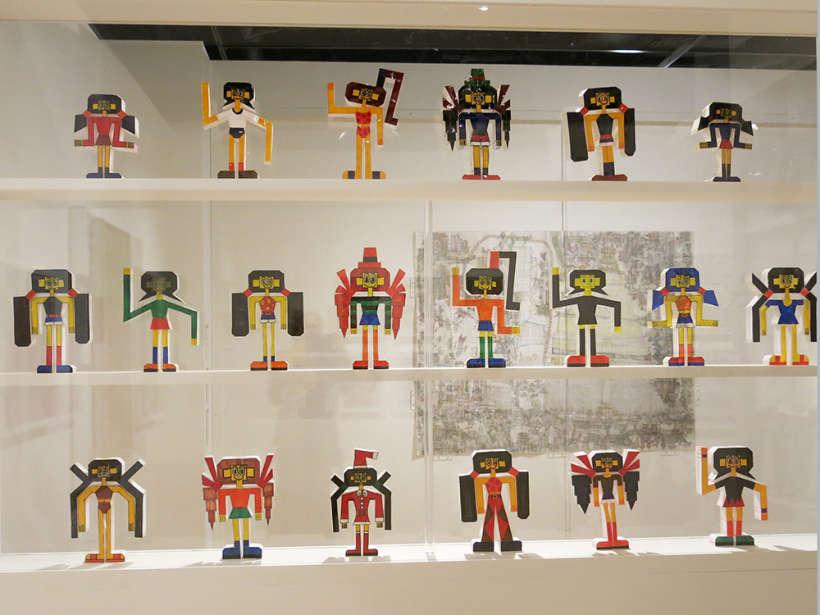 Keisuke Ishino paper anime figurines
