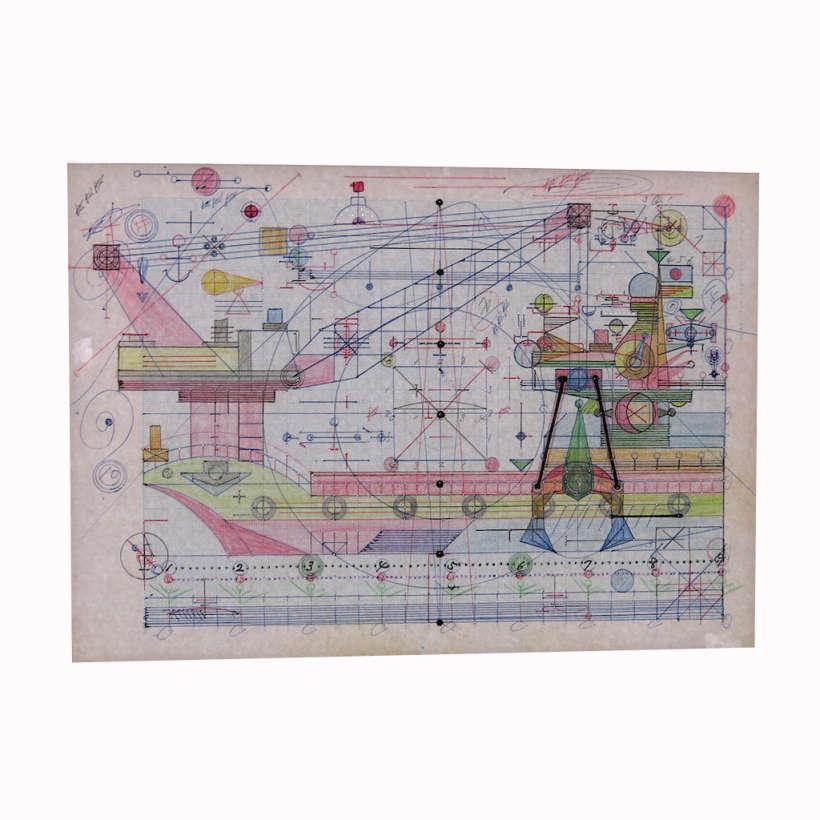 Kenichi Yamazaki blueprint design