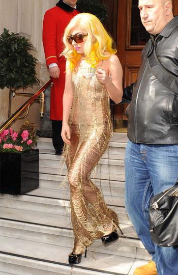 Lady Gaga wears Craig Lawrence