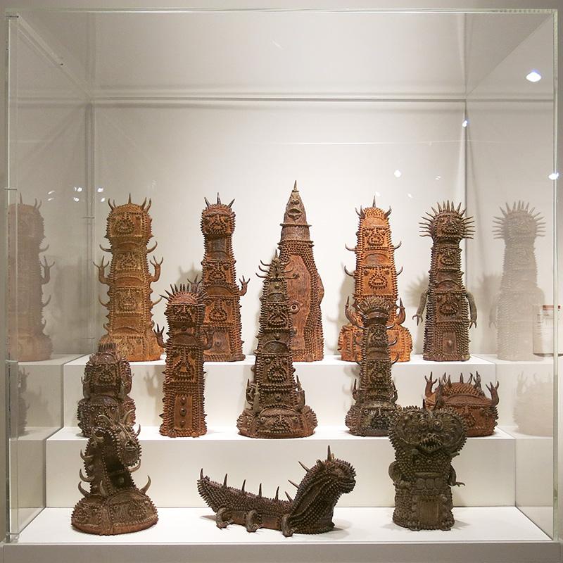 Sinichi Sawada clay sculptures