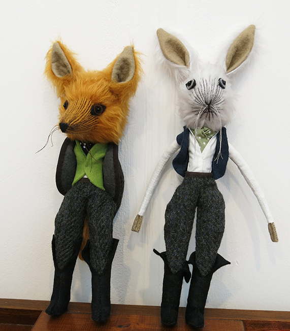 Mister Fox and Lord Hare