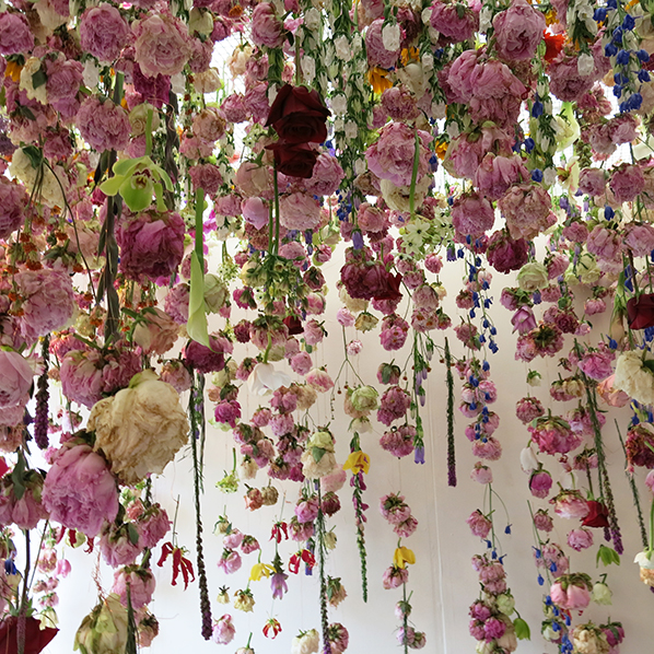 Rebecca Louise Law at Chelsea Flower Show