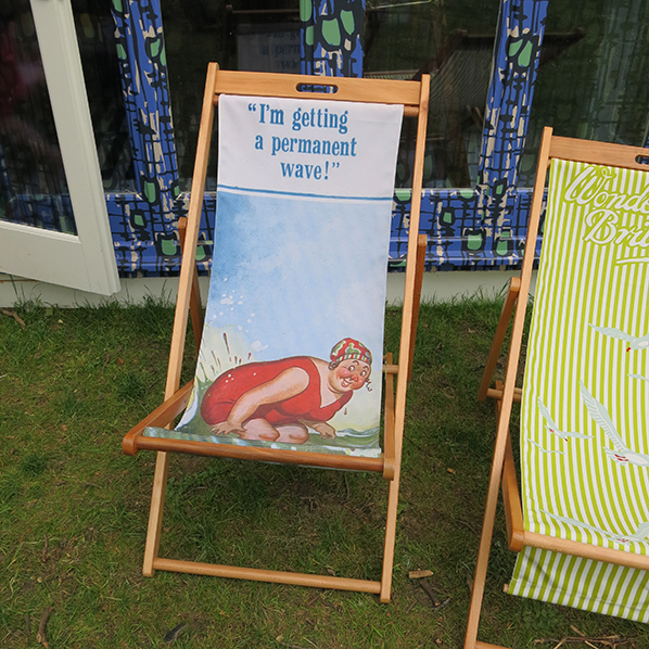 Wayne Hemingway deckchair