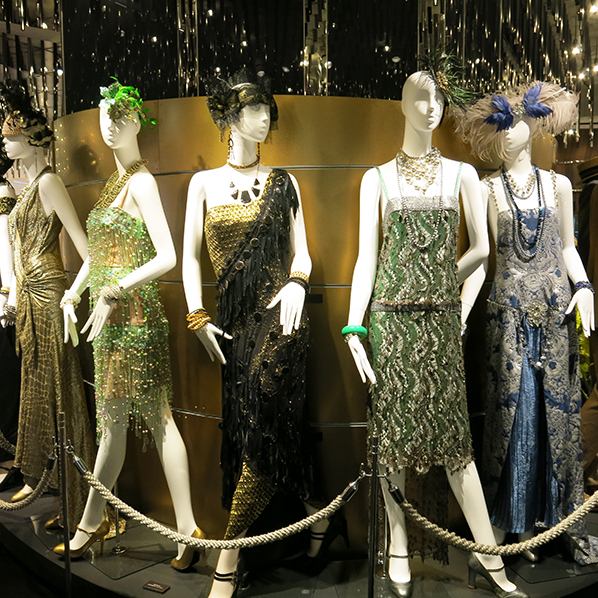 Great Gatsby dresses at Isetan