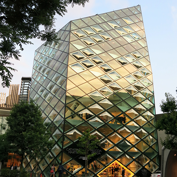 Prada Epicenter, Tokyo