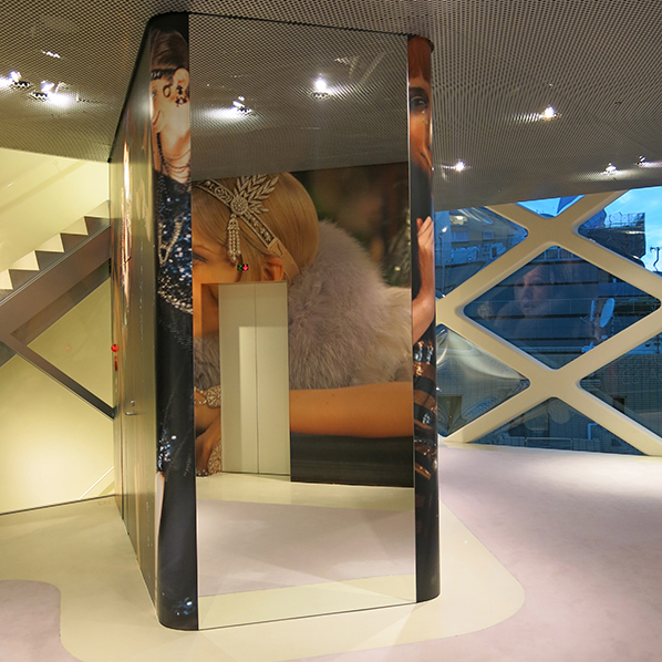 Prada Gatsby exhibition in Tokyo