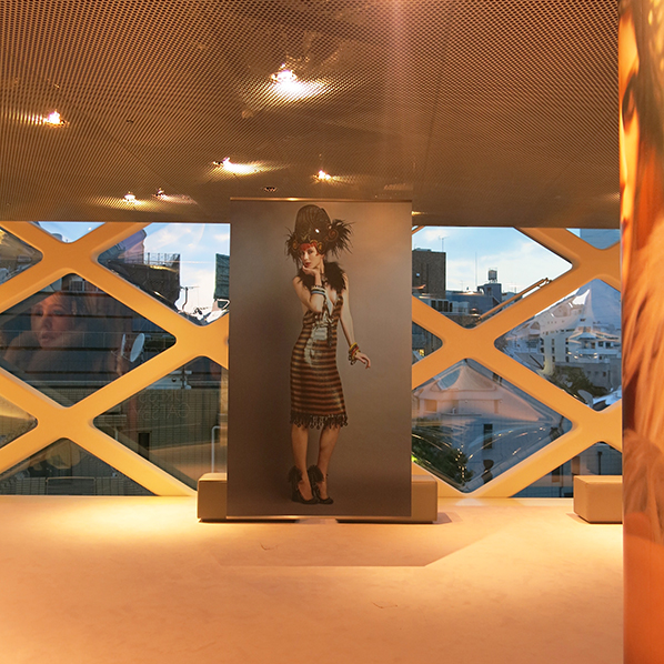 Prada Great Gatsby exhibition in Tokyo