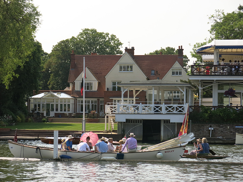 Boat at Henley Royal Regatta