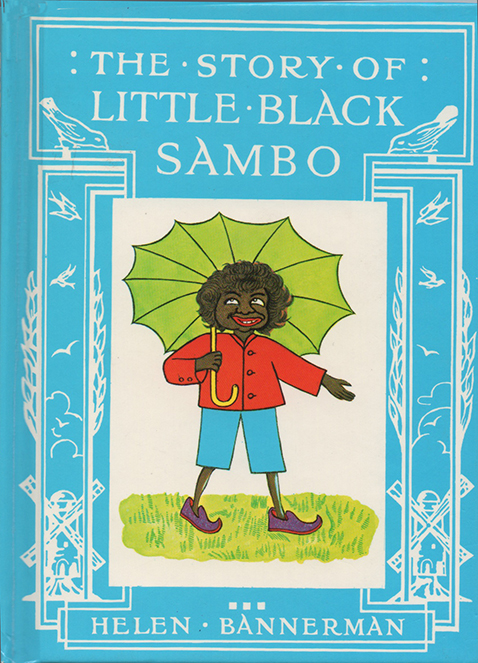 Little Black Sambo book cover