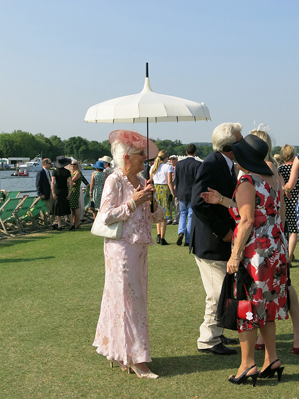 Parasol at Henley Royal Regatta