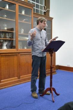 Matt Bryden Reading Poet
