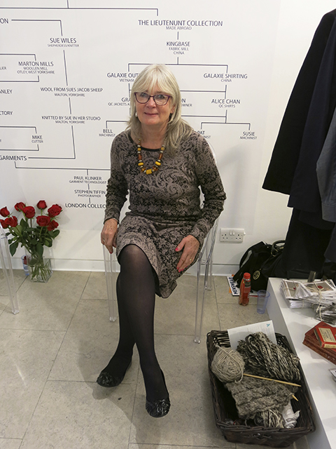 Sue Wiles of Tobefrank