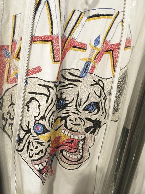 Vinti Andrews individually machine sewn t-shirt