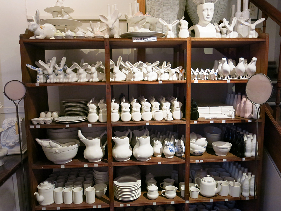 Chandler House ceramics