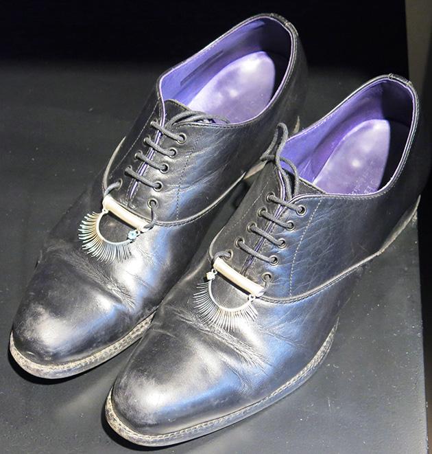 Miriti Weinstock eyelash shoe embellishment