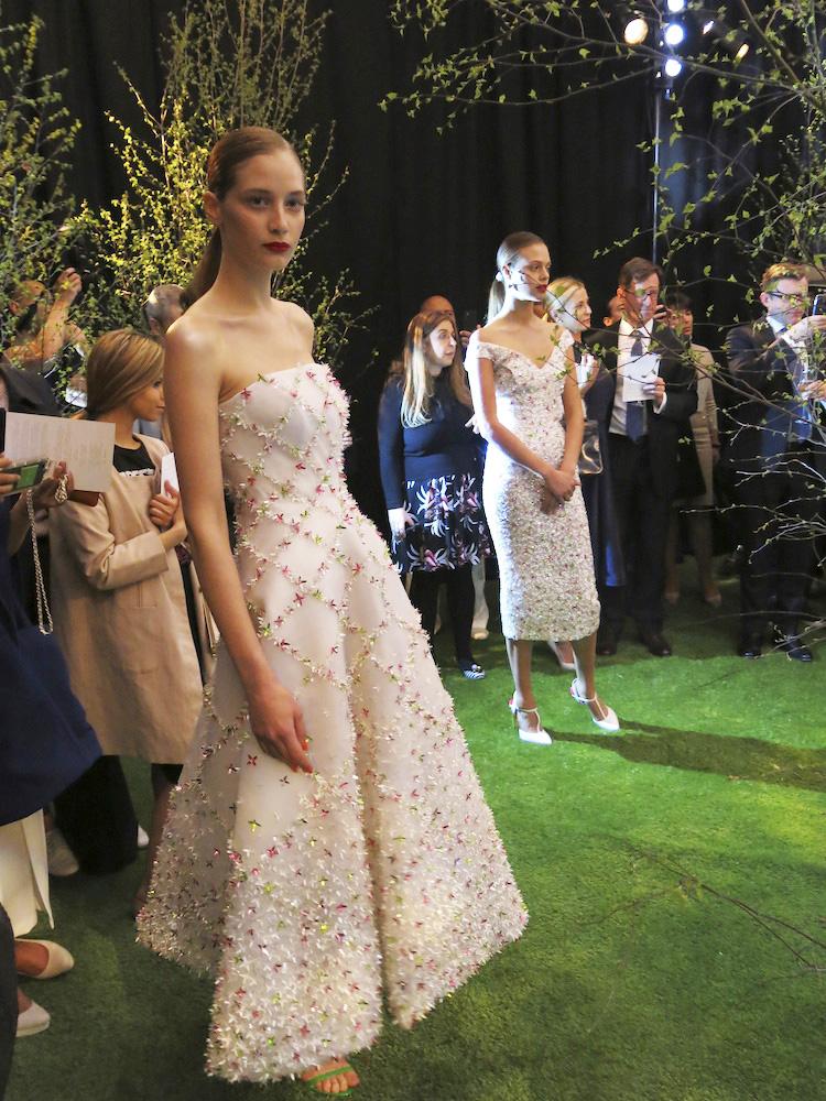 Nicholas Oakwell romantic floral dress