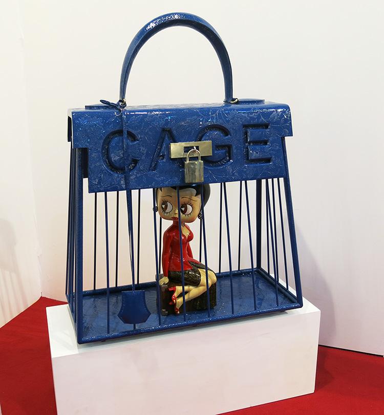 Cage bag by Sri Astari