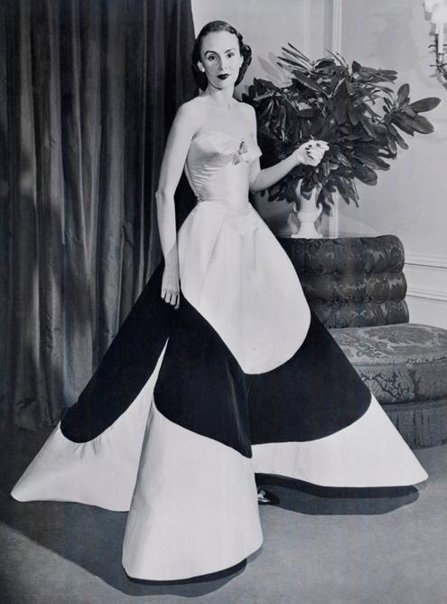 Austine Hearts 4 leaf clover gown via Met Museum
