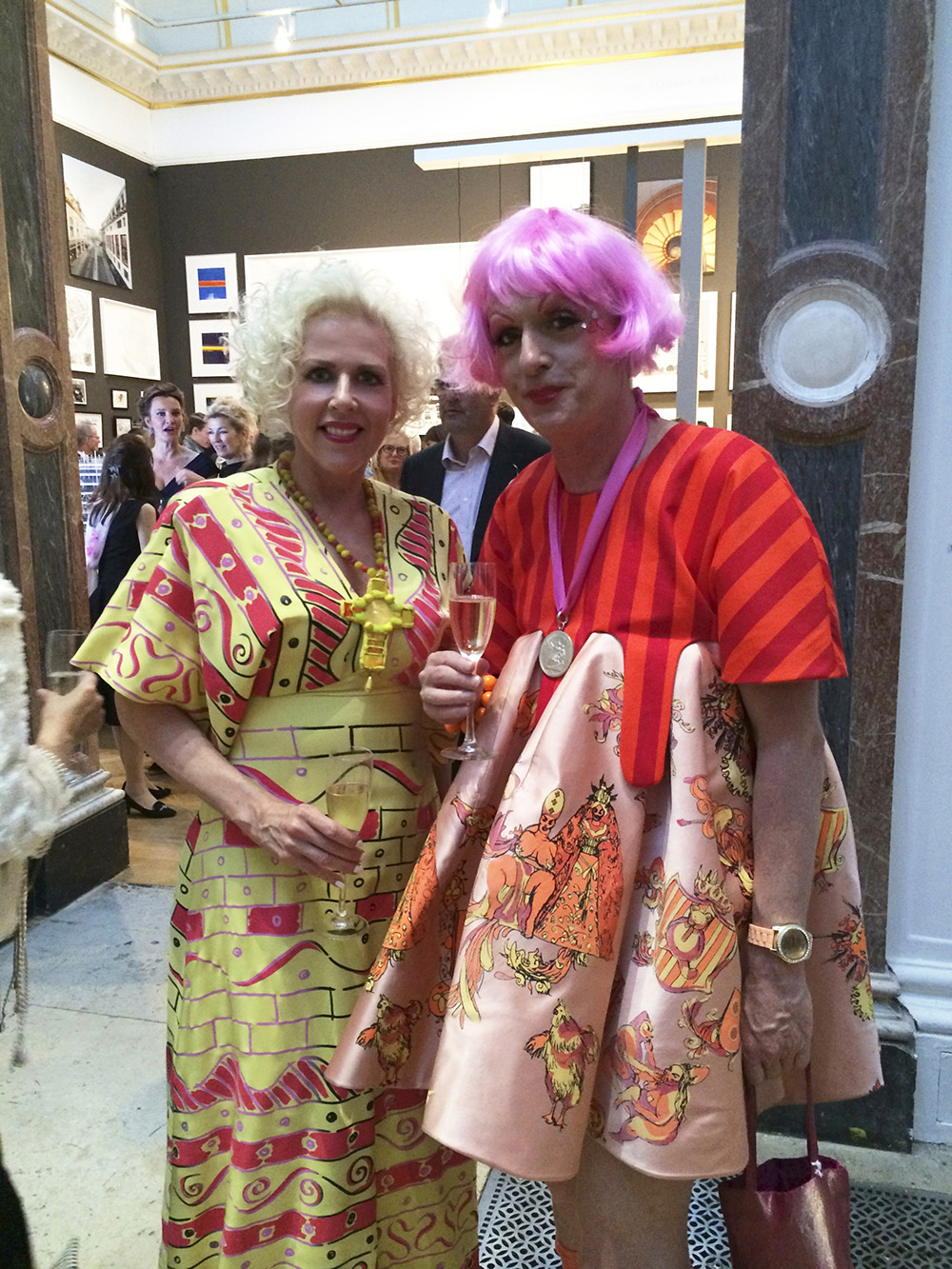 Grayson Perry and Susan Muncey