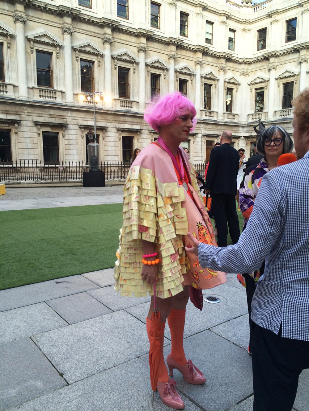 Grayson Perry interviewed at Royal Academy