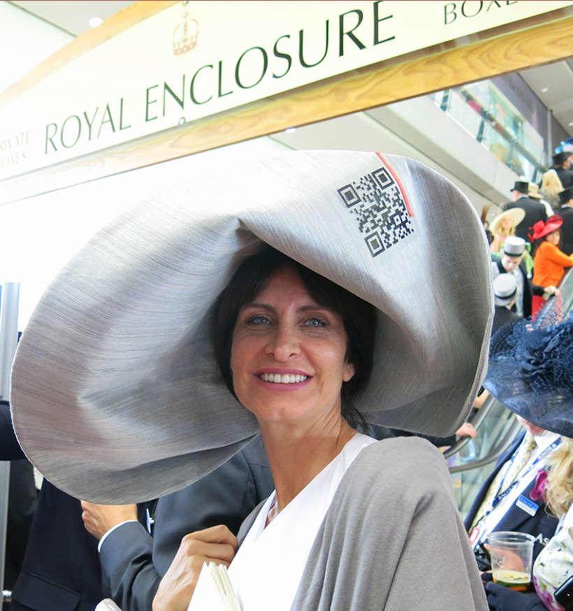 Royal Ascot QR Code Hat