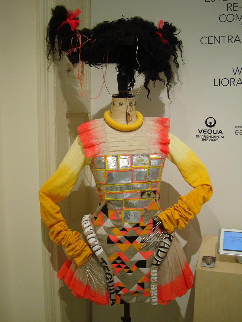 Liora Lassalle at LFW