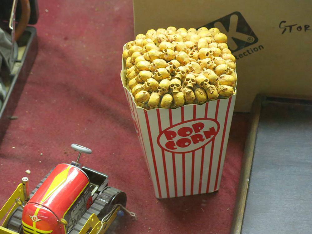 Curious popcorn