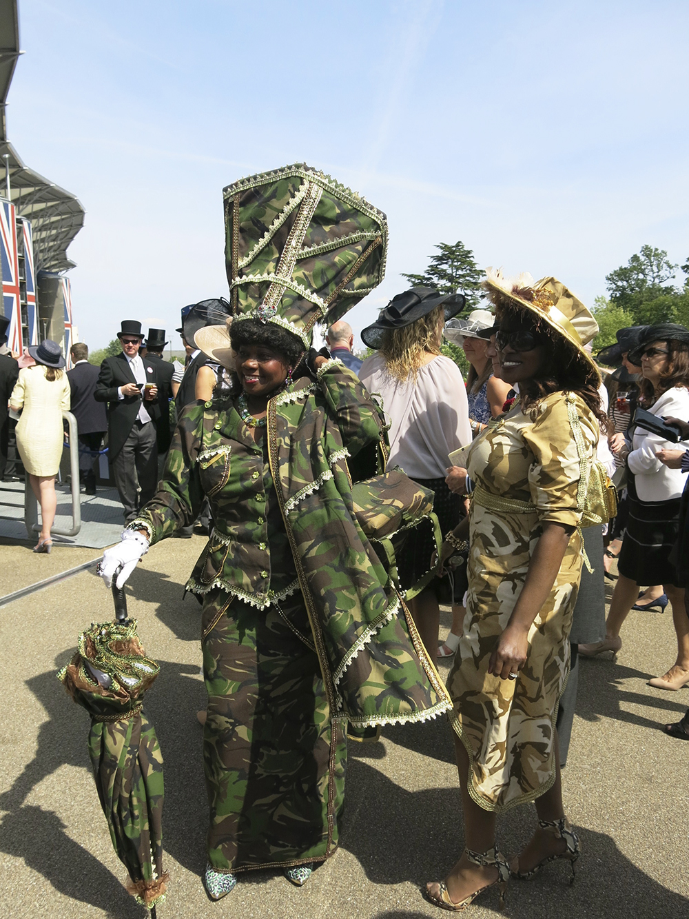 Camouflage at Royal Ascot