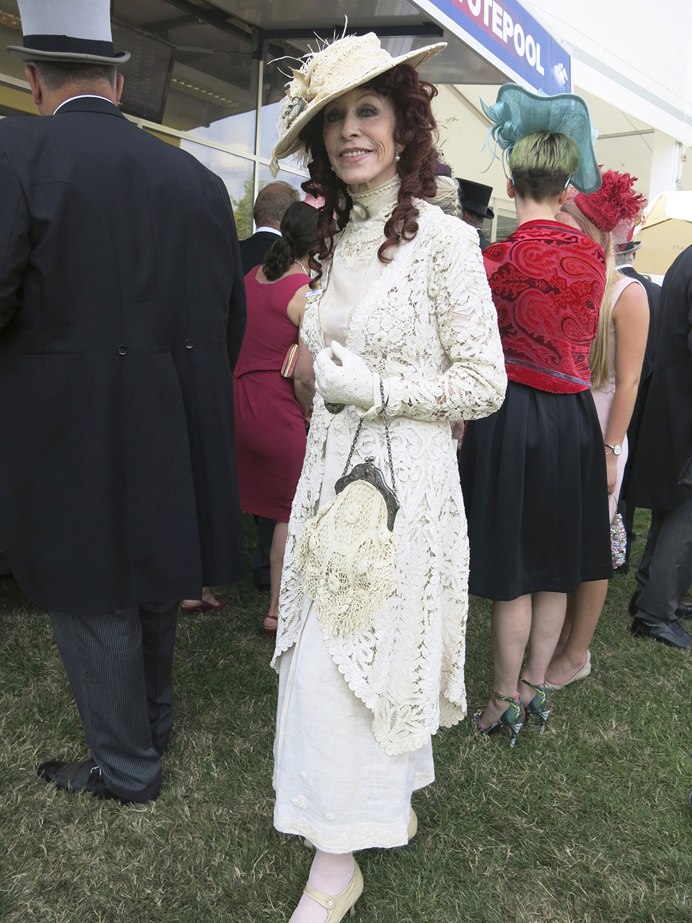 Cicely Hansen at Royal Ascot