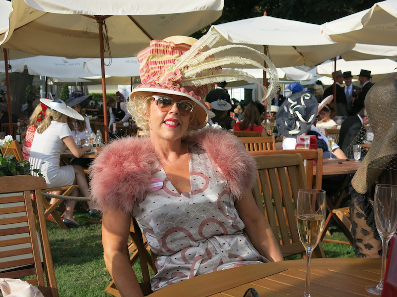 Mad Hatter look at Royal Ascot